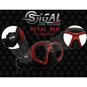 sigalsub metal red maska